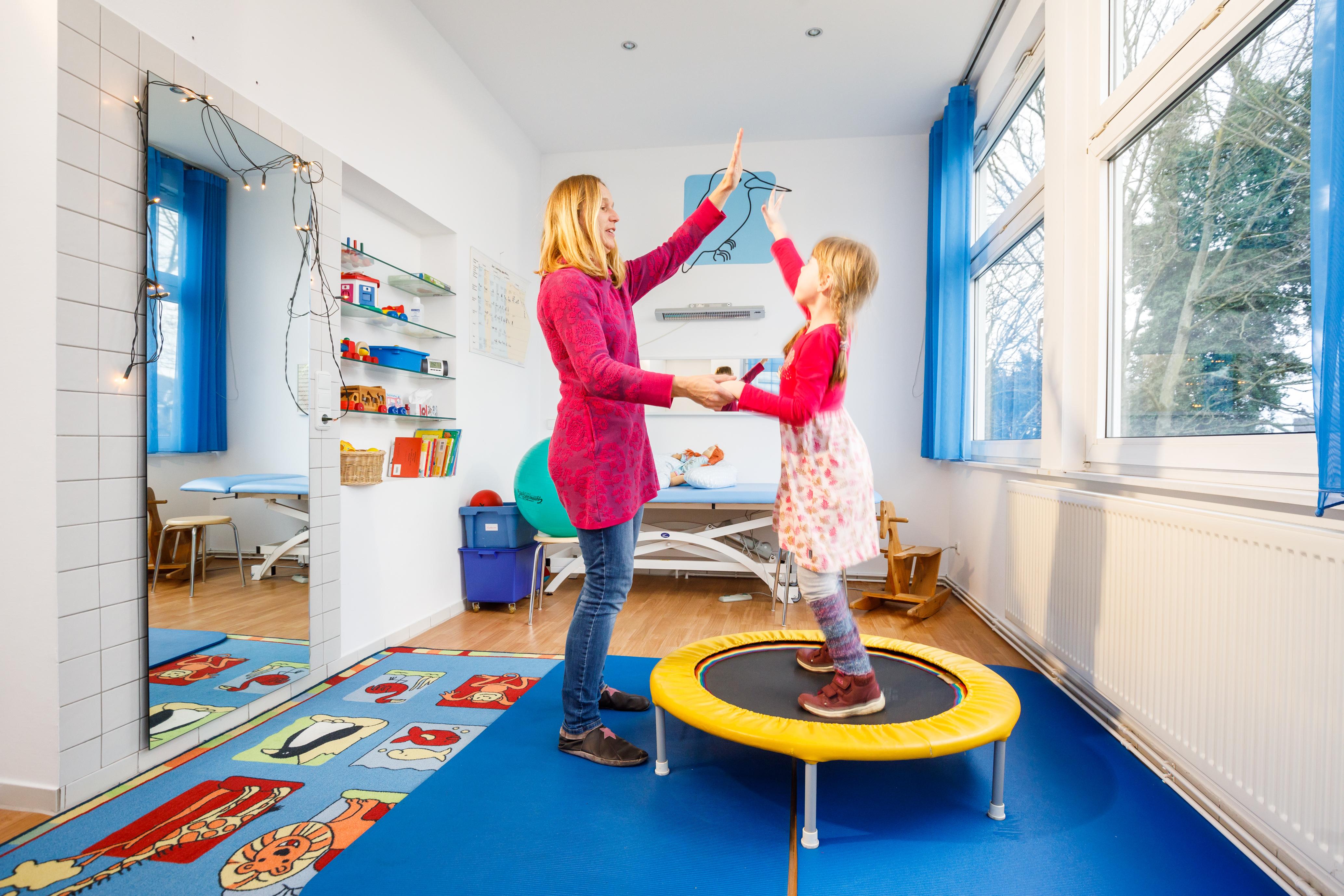 Eisvogelraum - Krankengymnastik Praxis Villa Mobile Essen